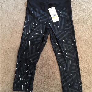 2 pair bundle of Under Amour Capri leggings
